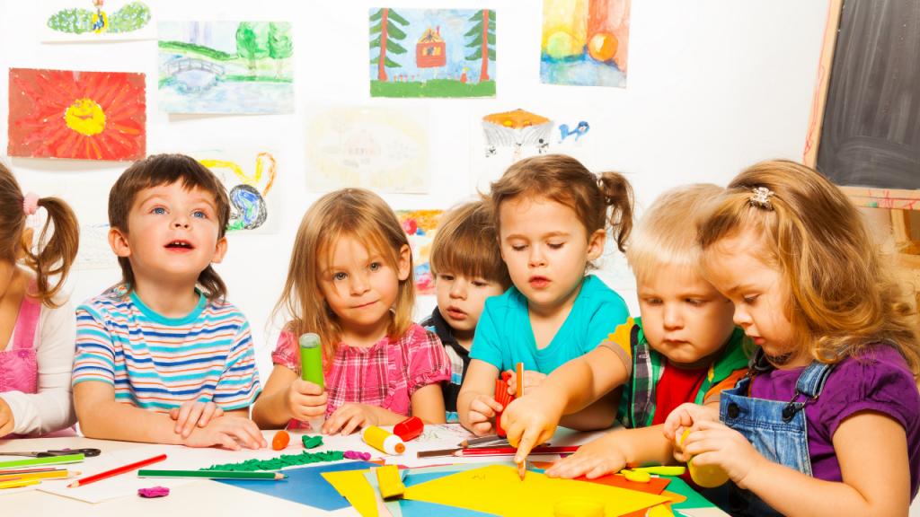 Clases de inglés para edades de 2 a 5 años