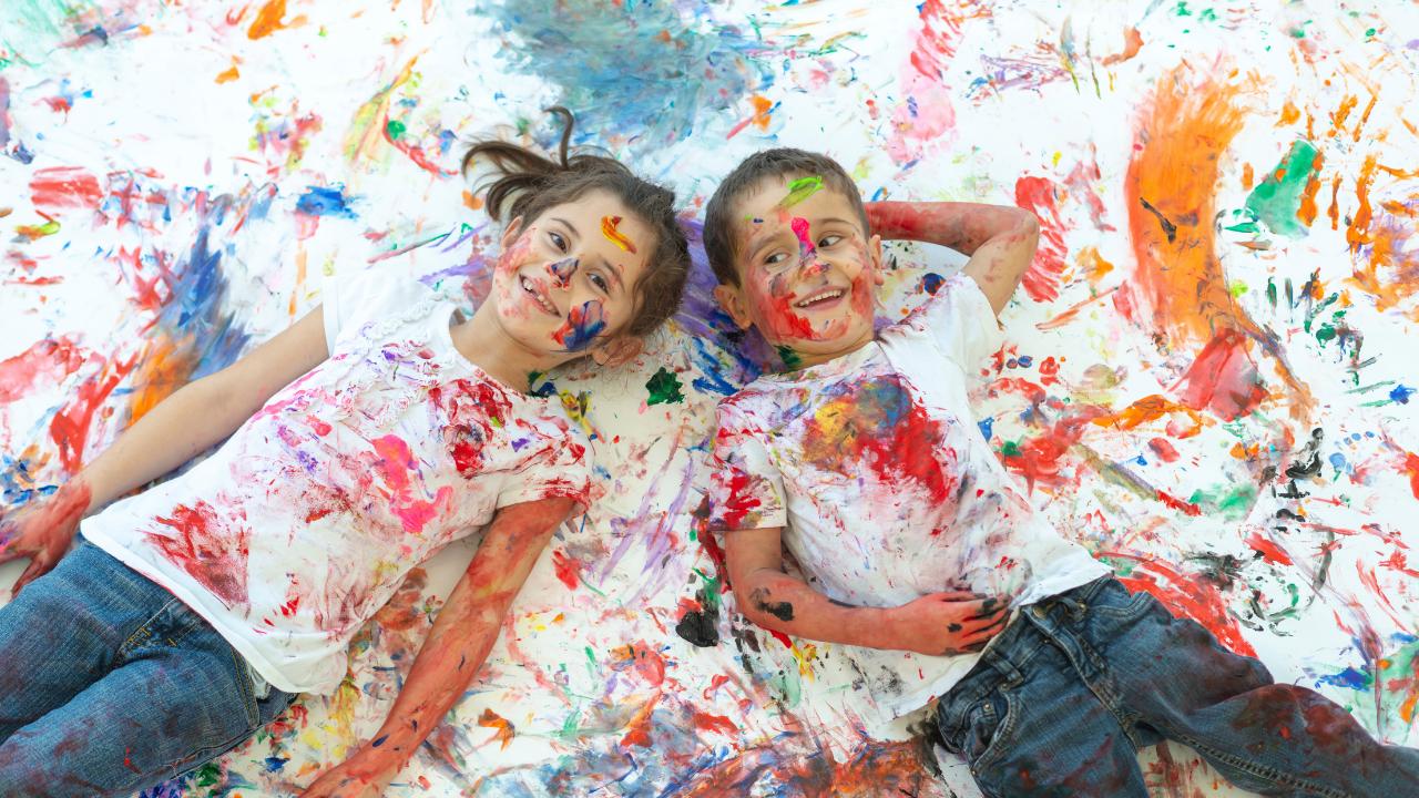 Clases de pintura ABC para niños de 2 a 13 años